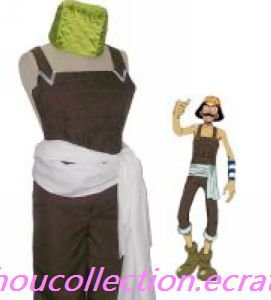 One Piece Cosplay Usopp Costume(FREE SHIPPING)