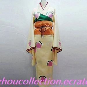 Hoozuki no Reitetsu Peach Maki Cosplay Costume(FREE SHIPPING)