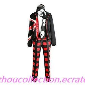 Uta no Prince Syo Kurusu Wild Punk Cosplay Costume (FREE SHIPPING)