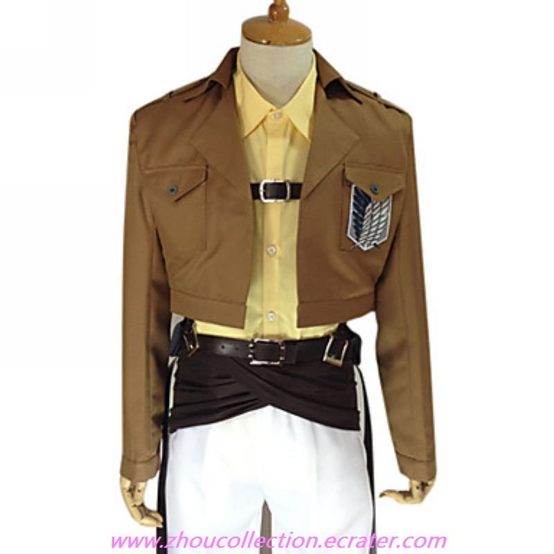 Attack on Titan Zoe Hange  Survey Corps  Uniform(FREE SHIPPING)