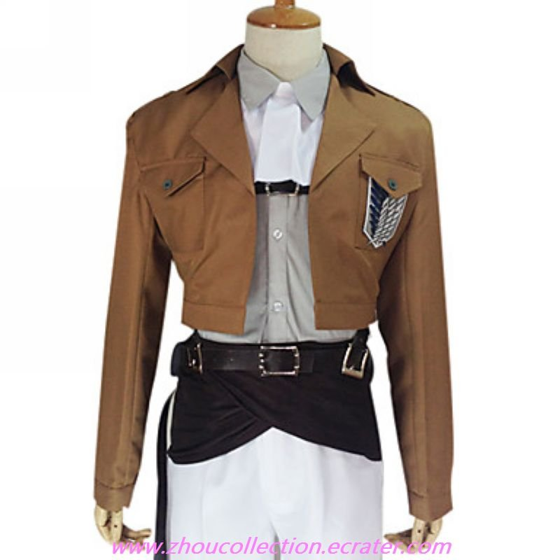 Attack on Titan Levy The Survey Corps Special Operations Squad Uniform(FREE SHIPPING)