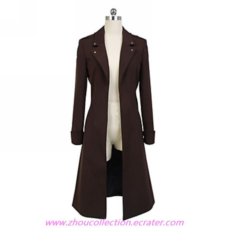 Attack on Titan Wings of Counterattack Online Levi Cosplay Coat(FREE SHIPPING)