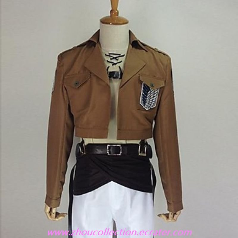 Attack on Titan Eren Jager Cosplay Costume(FREE SHIPPING)