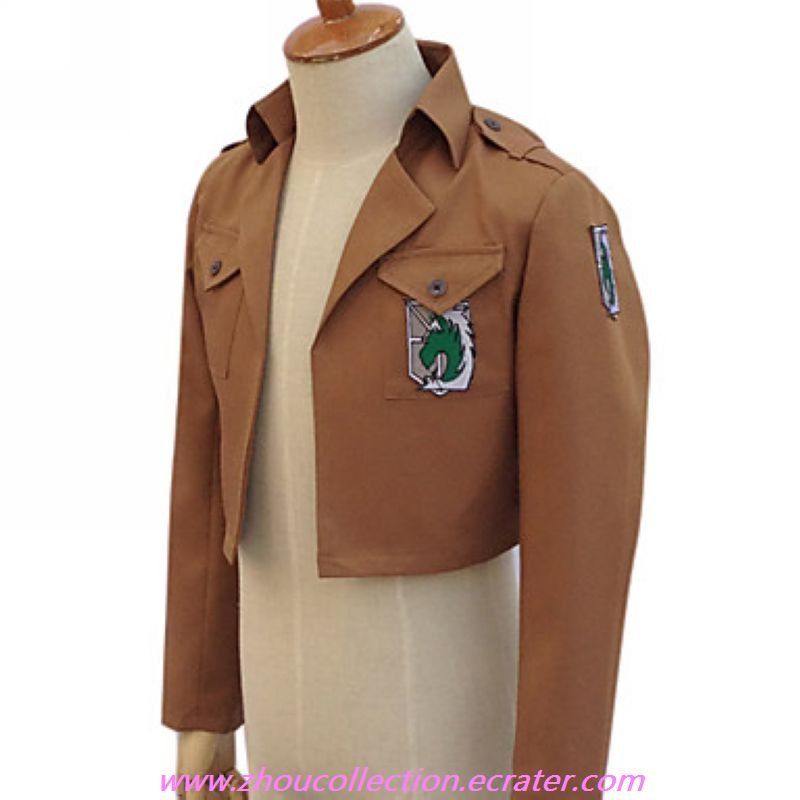 Attack on Titan Military Police Brigade Cosplay Costume(FREE SHIPPING)