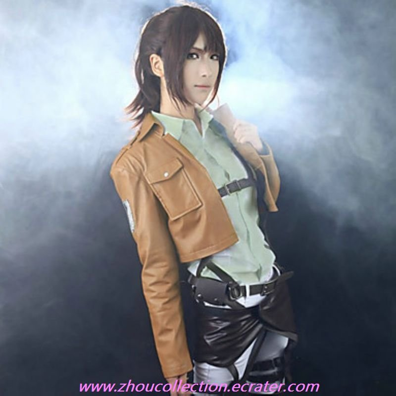 Attack on Titan Wings of Freedom Scouting Legion Cosplay Jacket (PU Leather)(FREE SHIPPING)