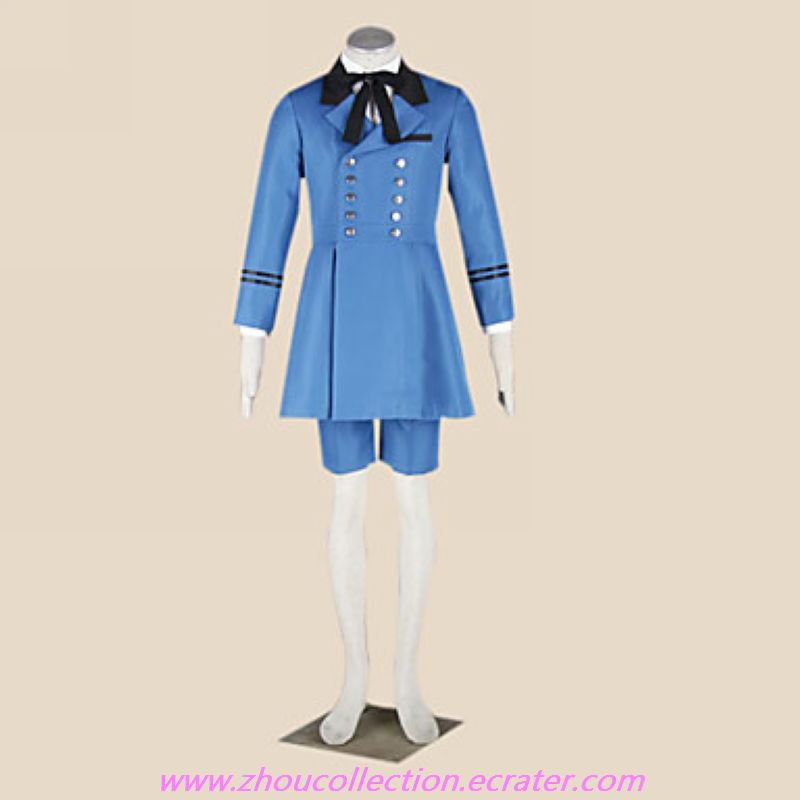 Cosplay Costume Inspired by Black Butler Ciel Phantomhive Double-breasted  (FREE SHIPPING)