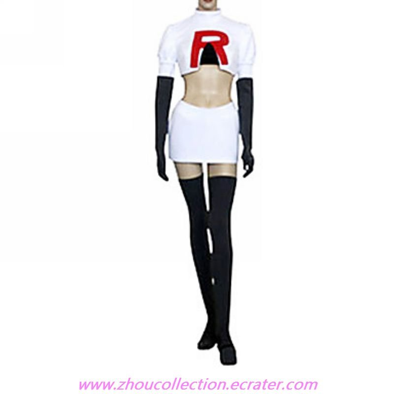 Cosplay Costume Inspired by Pockmon Team Rocket Jesse(FREE SHIPPING)