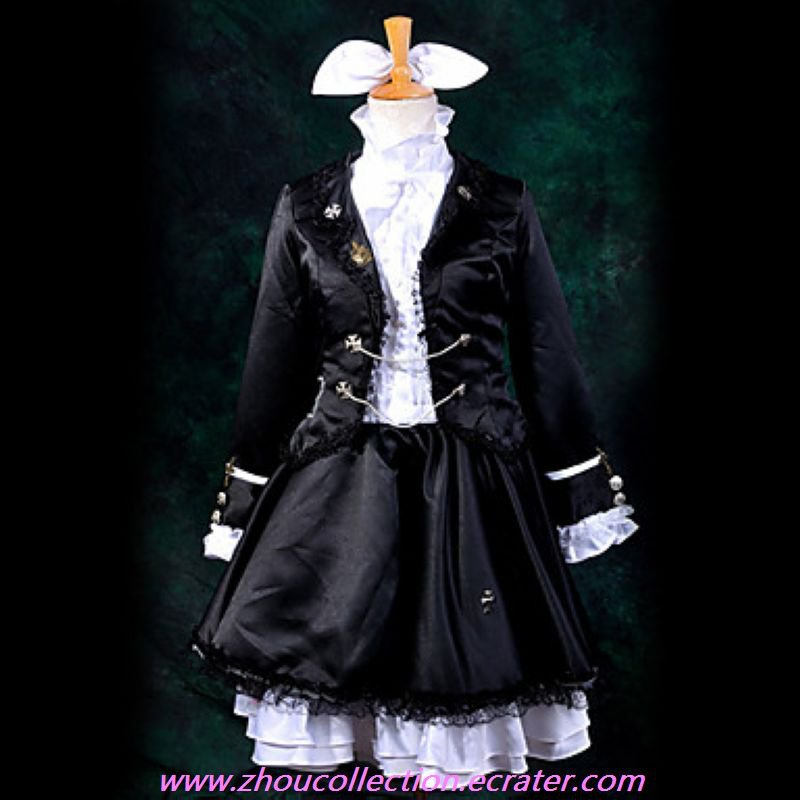 Secret Police Rin Cosplay Costume(FREE SHIPPING)