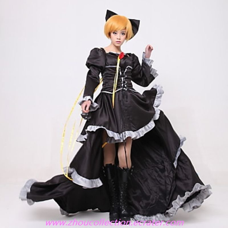 Imitation Black Kagamine Ren Cosplay Costume(FREE SHIPPING)