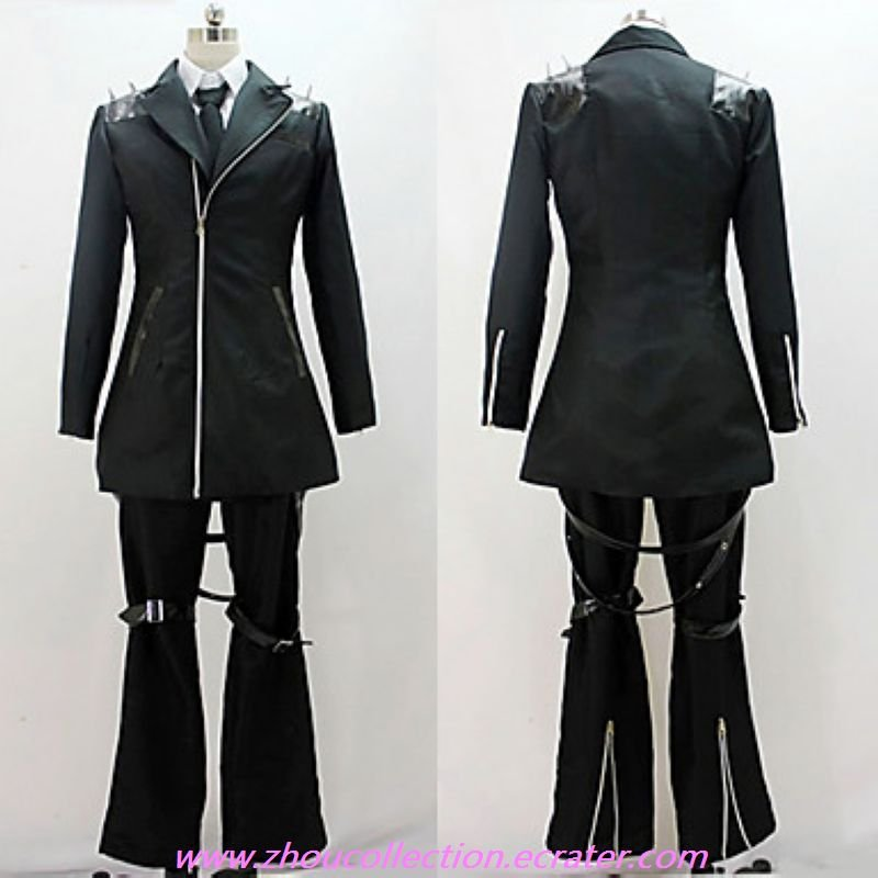 VOCALOID Secret Police Kagamine Len Cosplay Costume(FREE SHIPPING)