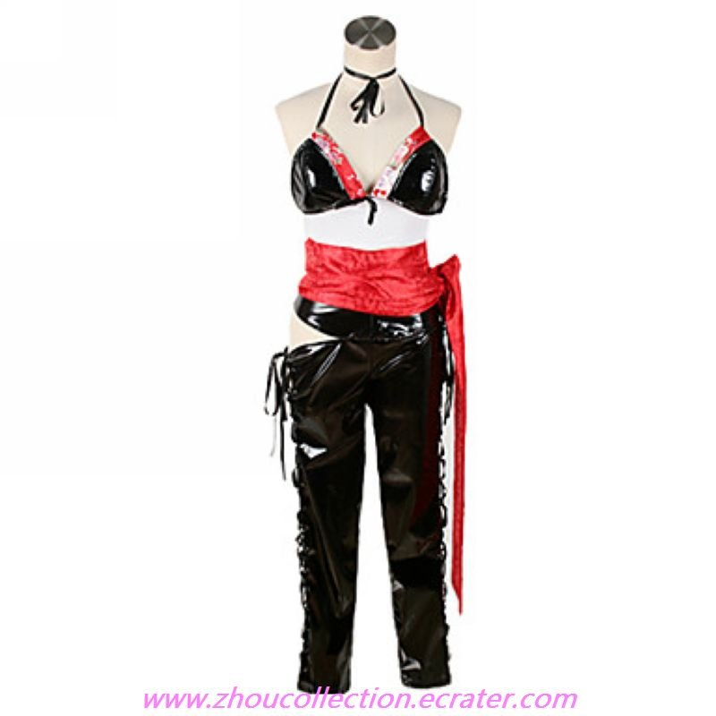 Vocaloid Hatsune Miku Wild Black and Red Cosplay Costume(FREE SHIPPING)