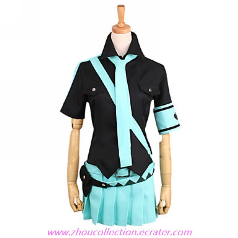 Cosplay Costume Inspired by Voacloid Love is War Hatsune Miku(FREE SHIPPING)