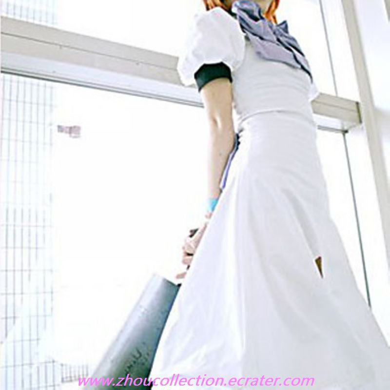 Cosplay Costume Inspired by Higurashi When They Cry Rena Ryuugu(FREE SHIPPING)
