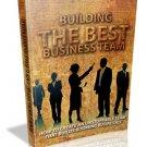 Building The Best Business Team  eBook  PDF