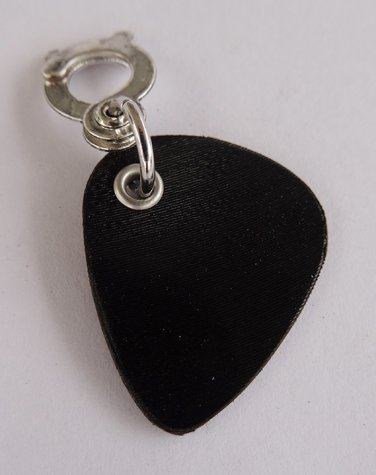 Record Guitar Pick Charm