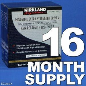 Kirkland Minoxidil 5% - 16 Month Supply