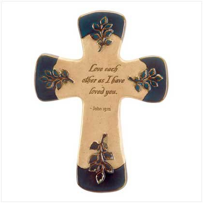 Love Letters Wall Cross