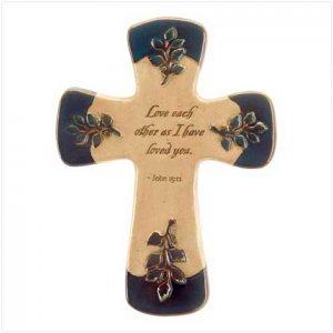 Love Letters Wall Cross