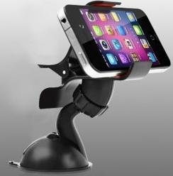 free shipping Car Windscreen Mount Holder Cradle Stand Bracket for Smart Phones with Sucking Cup