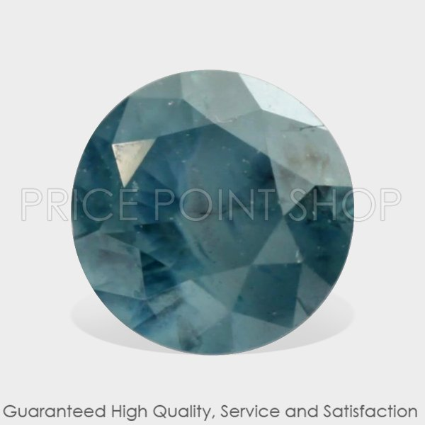 0.12 ctw, 3.13 mm Size, Turquoise Blue, I3 Clarity, Round Cut Real Loose Diamonds