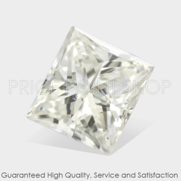 0.13 ctw, 2.97 x 2.72 mm, G White Color, SI1 Clarity, Princess Cut Loose Diamonds
