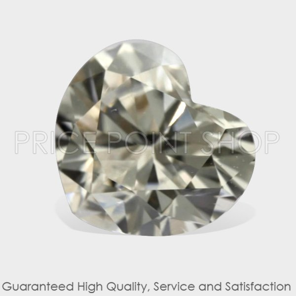 0.50 ctw, 4.60 x 5.20 mm, White G Color, VS1 Clarity, Heart Shape Loose Diamonds
