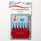 TePe  TE-PE INTERDENTAL BRUSH PINK ISO SIZE 0, 0.4MM X 6 BRUSHES PER PACK