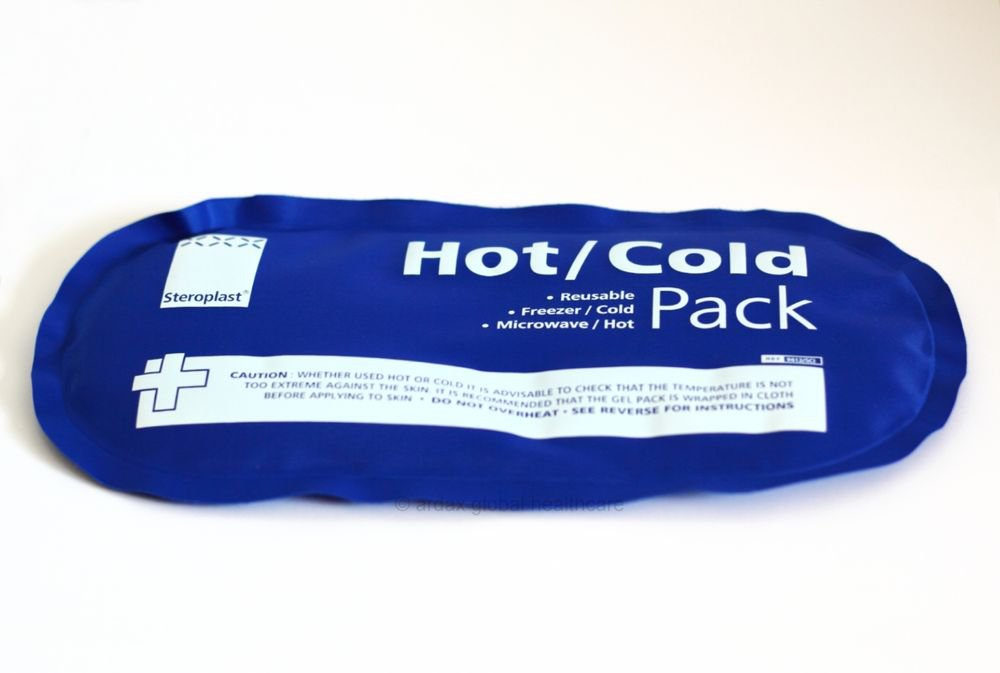 HOT COLD HEAT REUSABLE GEL PACK  SEALED SPORT FIRST AID  LARGE SIZE13 X 25 CM