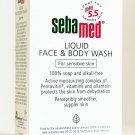 SEBAMED LIQUID FACE/BODY WASH SOAP-FREE SENSITIVE 200ML