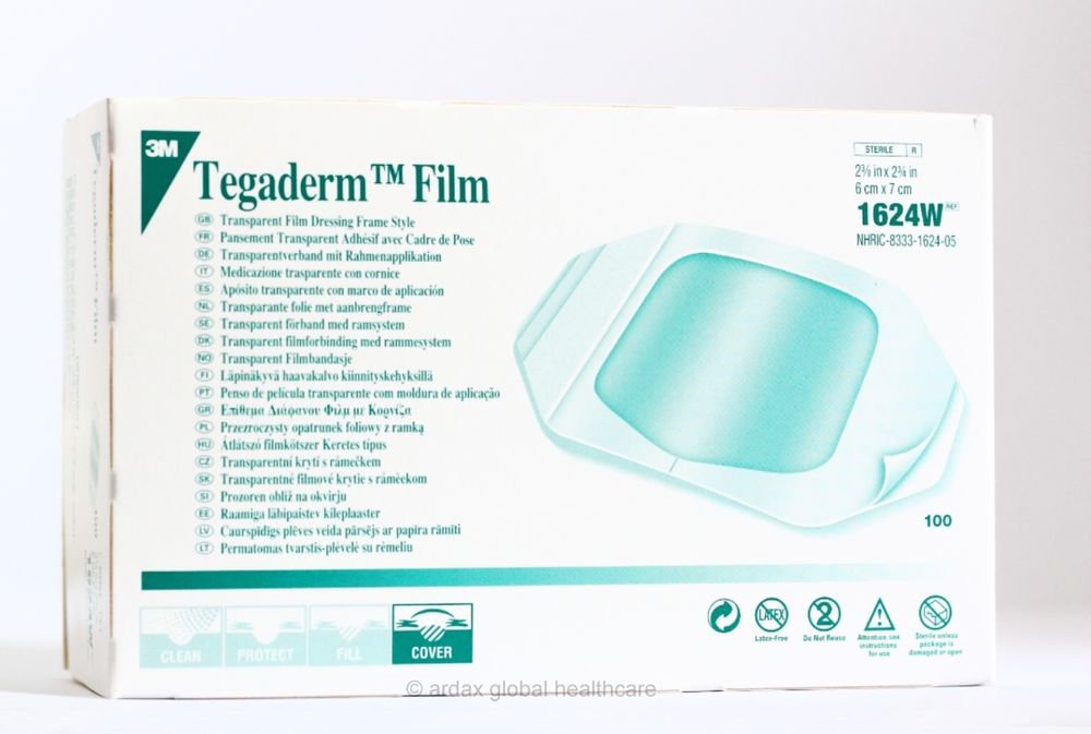 Tegaderm Film 6 Cm X 7cm Dressing 3m Tattoo 1 Box 100
