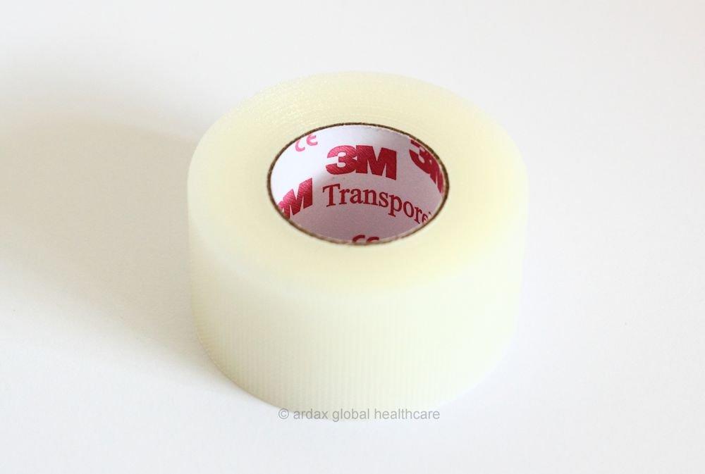 Transpore Tape 2.5cm X 9.1m Genuine 3m Brand X 1 Roll