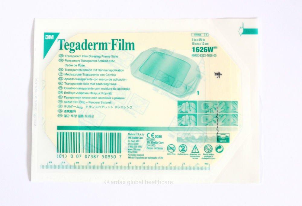Tegaderm Film 10cm X 12cm Clear Dressing 3m Tattoo X 2