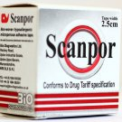 Scanpor Brand Microporous Skin Friendly Hypoallergenic Surgical Tape 2.5cm X 5m