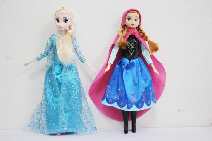 2PCS/Lot Hot Sell Frozen Princess Frozen Doll Frozen Elsa and Frozen Anna Good Girl Gifts