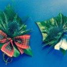 Gents Eryngium buttonhole