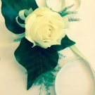 Ladies wrist Rose corsage