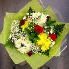 Summer sunshine Large hand-tie bouquet