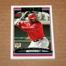 2006 TOPPS BASEBALL - Los Angeles Angels Team Set (Updates & Highlights Only)