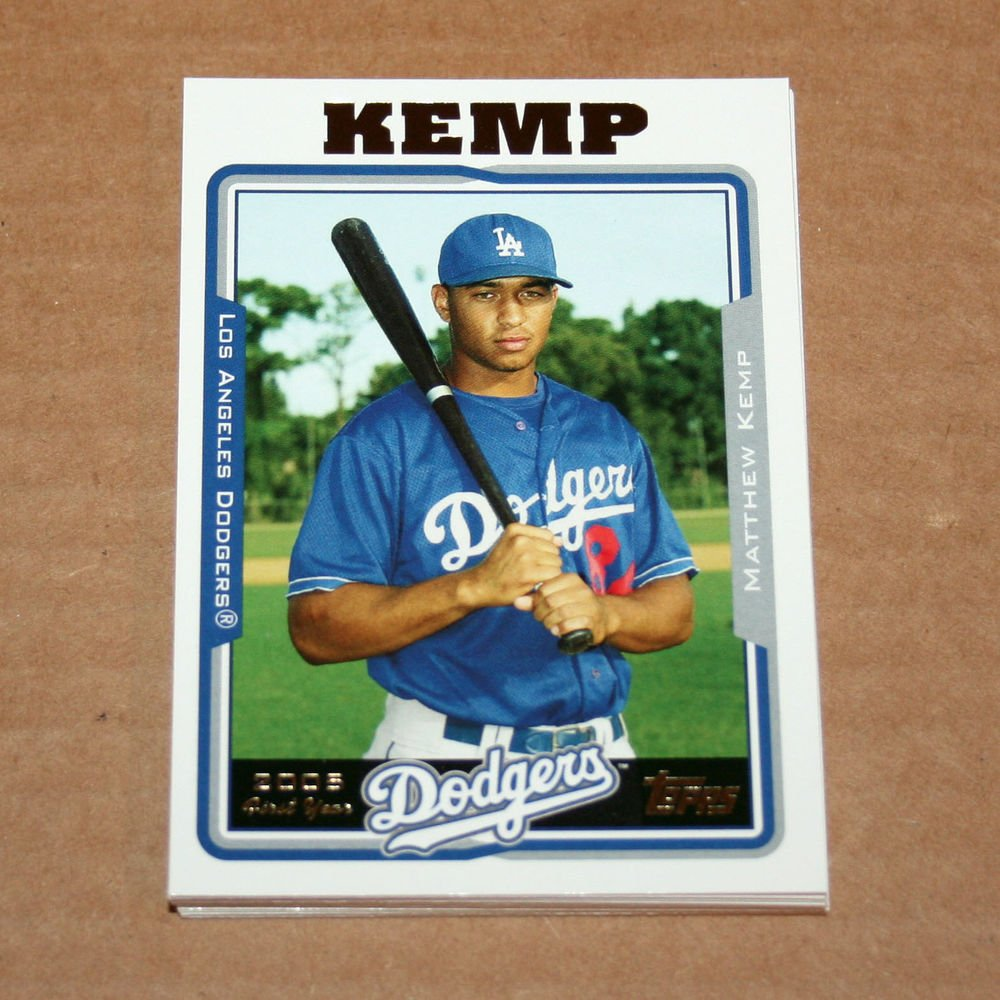 2005 TOPPS BASEBALL - Los Angeles Dodgers Team Set (Updates & Highlights Only)