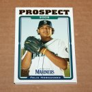2005 TOPPS BASEBALL - Seattle Mariners Team Set (Updates & Highlights Only)