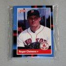 1988 DONRUSS BASEBALL - Boston Red Sox Team Set
