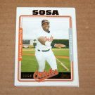 2005 TOPPS BASEBALL - Baltimore Orioles Team Set (Updates & Highlights Only)