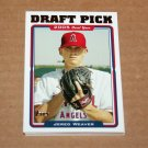 2005 TOPPS BASEBALL - Los Angeles Angels Team Set (Updates & Highlights Only)