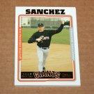 2005 TOPPS BASEBALL - San Francisco Giants Team Set (Updates & Highlights Only)