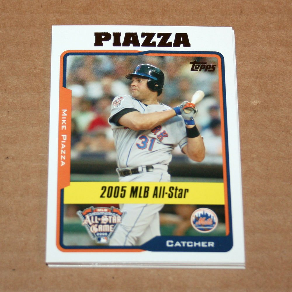 2005 TOPPS BASEBALL - New York Mets Team Set (Updates & Highlights Only)