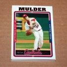 2005 TOPPS BASEBALL - St. Louis Cardinals Team Set (Updates & Highlights Only)