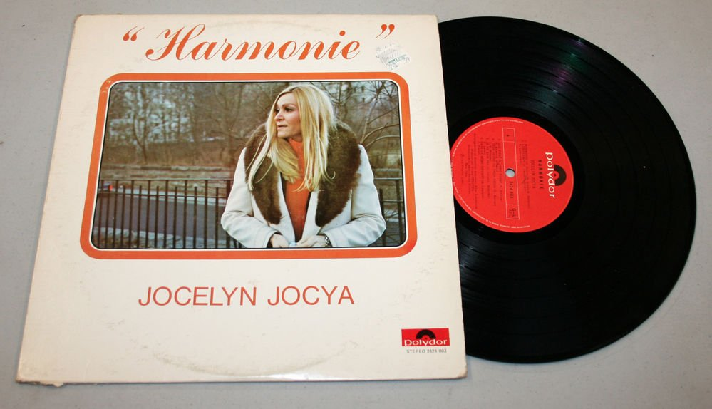 "Jocelyn Jocya ""Harmonie"" (2424 083) - Vinyl / LP / VG+"