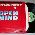 "Jean-Luc Ponty ""Open Mind"" (80185-1) - Vinyl / LP / 1st Pressing / In Shrink"