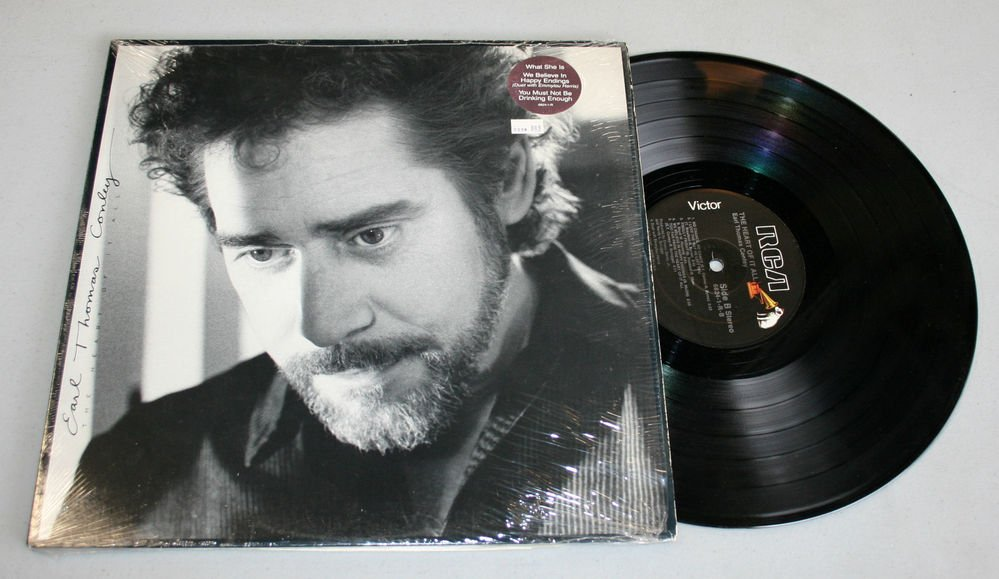 "Earl Thomas Conley �""The Heart of It All"" (6824-1-R) - Vinyl / LP / In-Shrink"