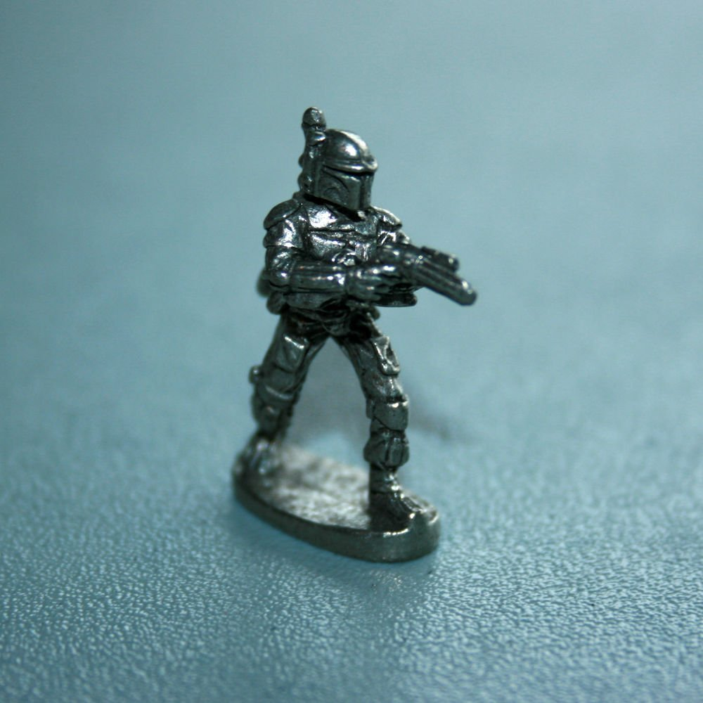 MONOPOLY: STAR WARS (Limited Collector's Edition) Boba Fett - Pewter Token